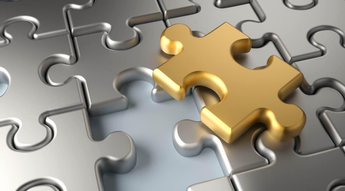 Puzzleteil zur Behandlung