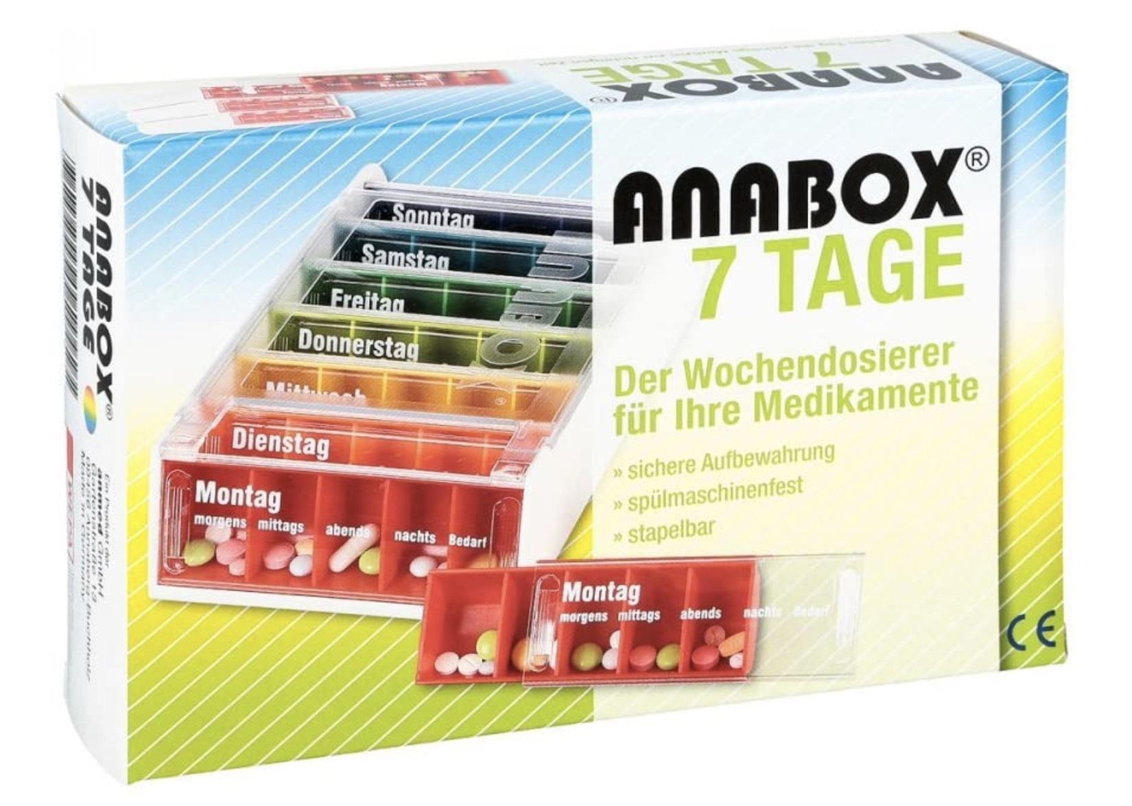 Ana Box zur leichten Dosierung